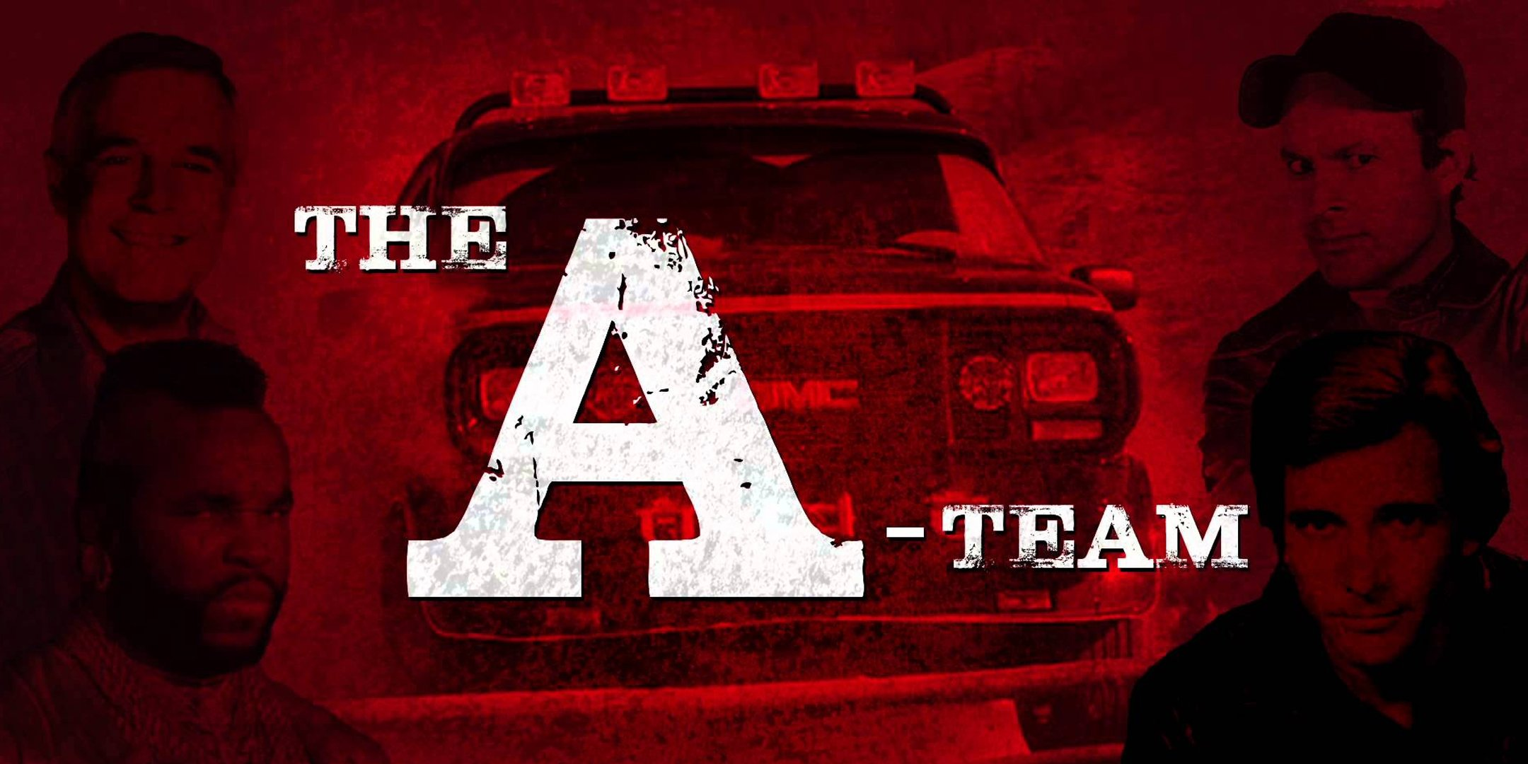 The A-Team red poster.