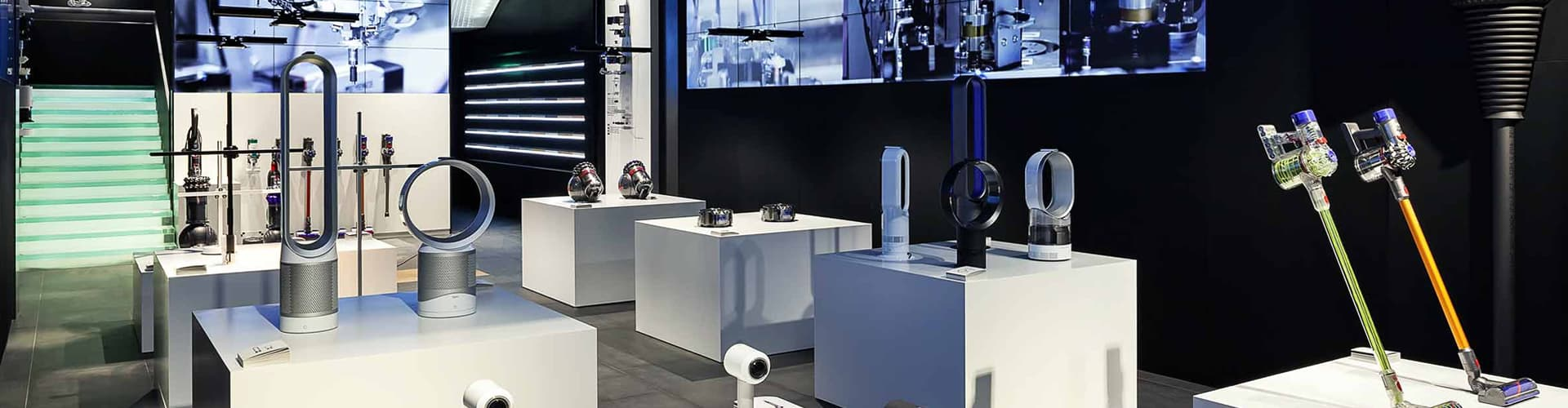 Dyson Exhibition - Showcasing technology