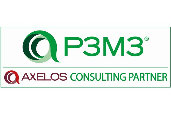 P3M3 Logo | Axelos Maturity Assessment Partner | Wellingtone
