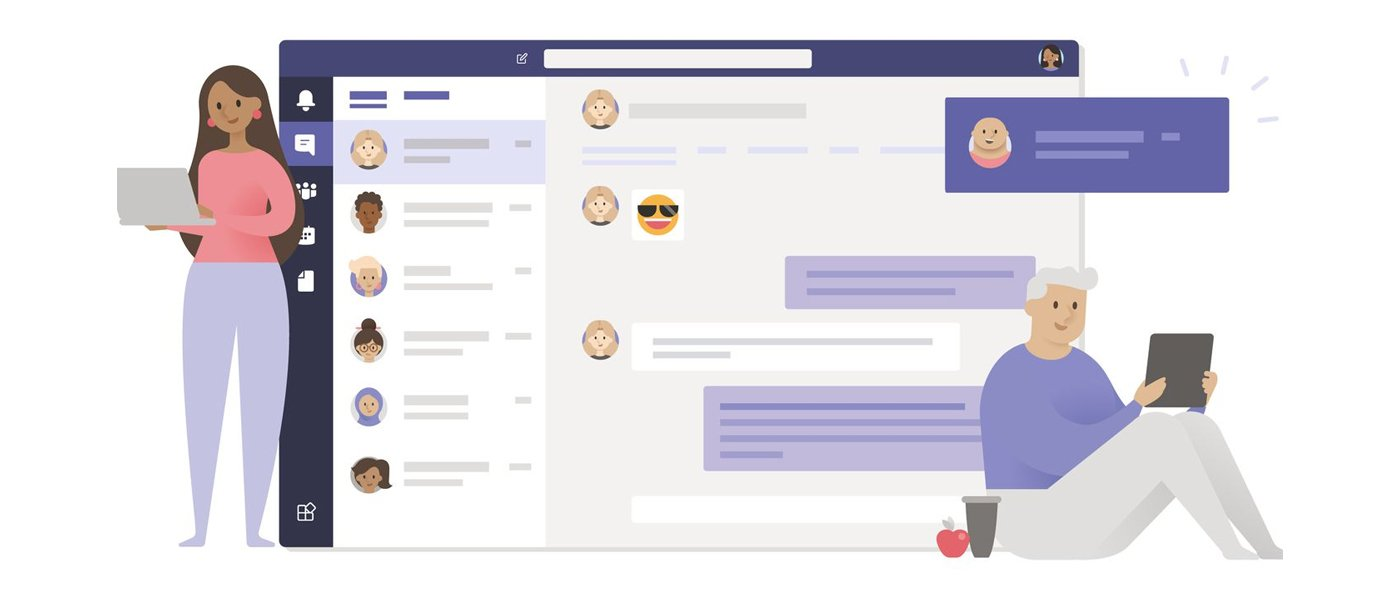 Microsoft Teams Animated Image