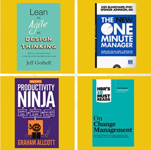 Recommended books for PMO Professionals